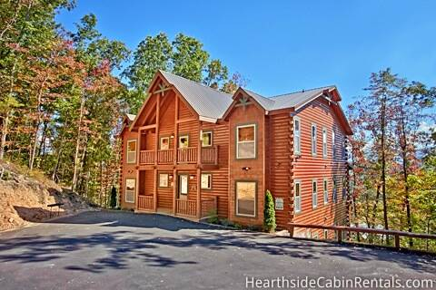Cabin Finder Big Group 13 bedroom Pigeon Forge cabin that is motorcoach and tour bus accessible ...