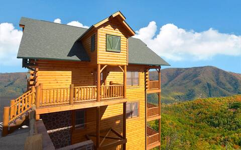 Find A Large Cabin Rental In Gatlinburg Pigeon Forge Tn