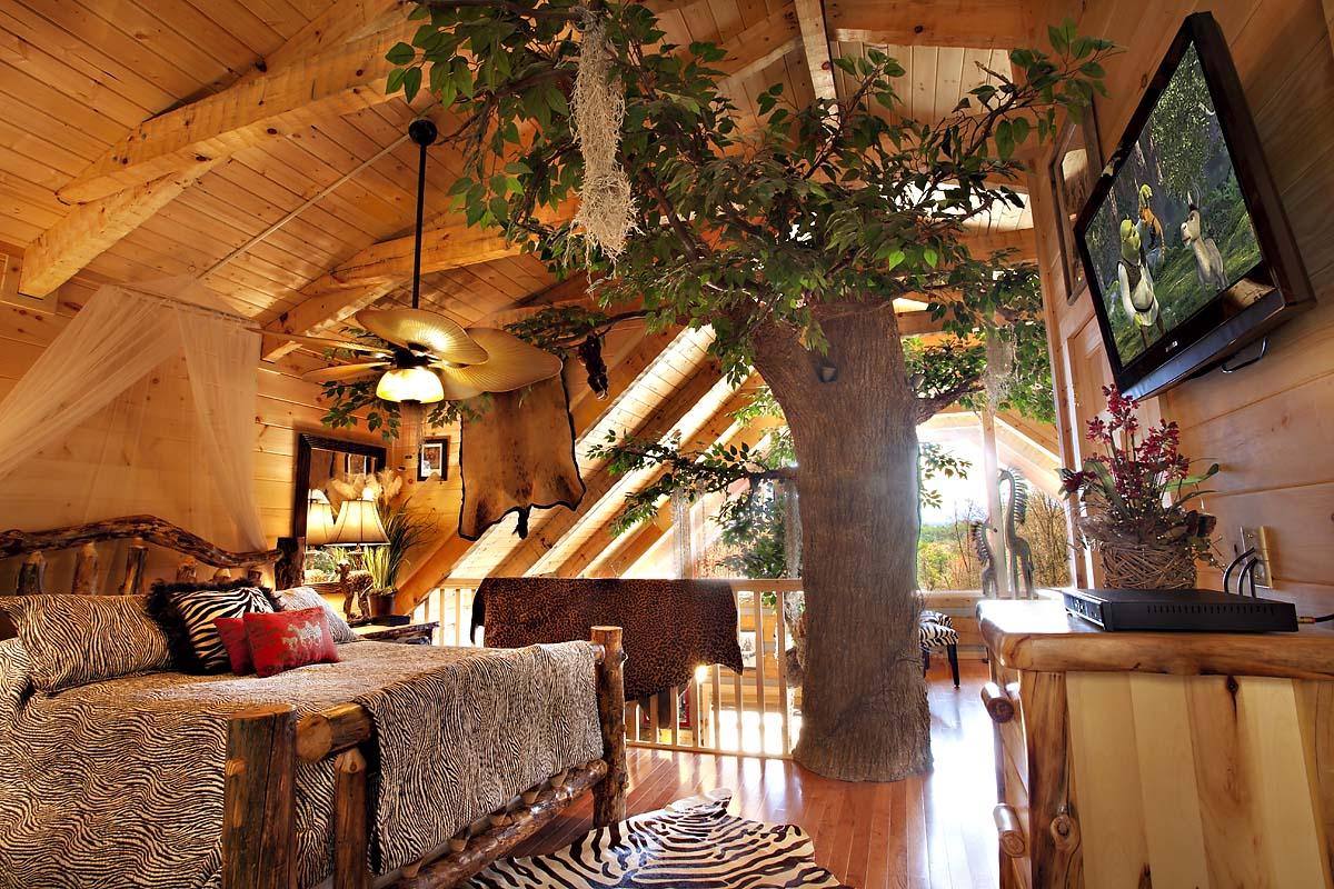 Me Tarzan You Jane 1 Bedroom Cabin From Hearthside Cabin